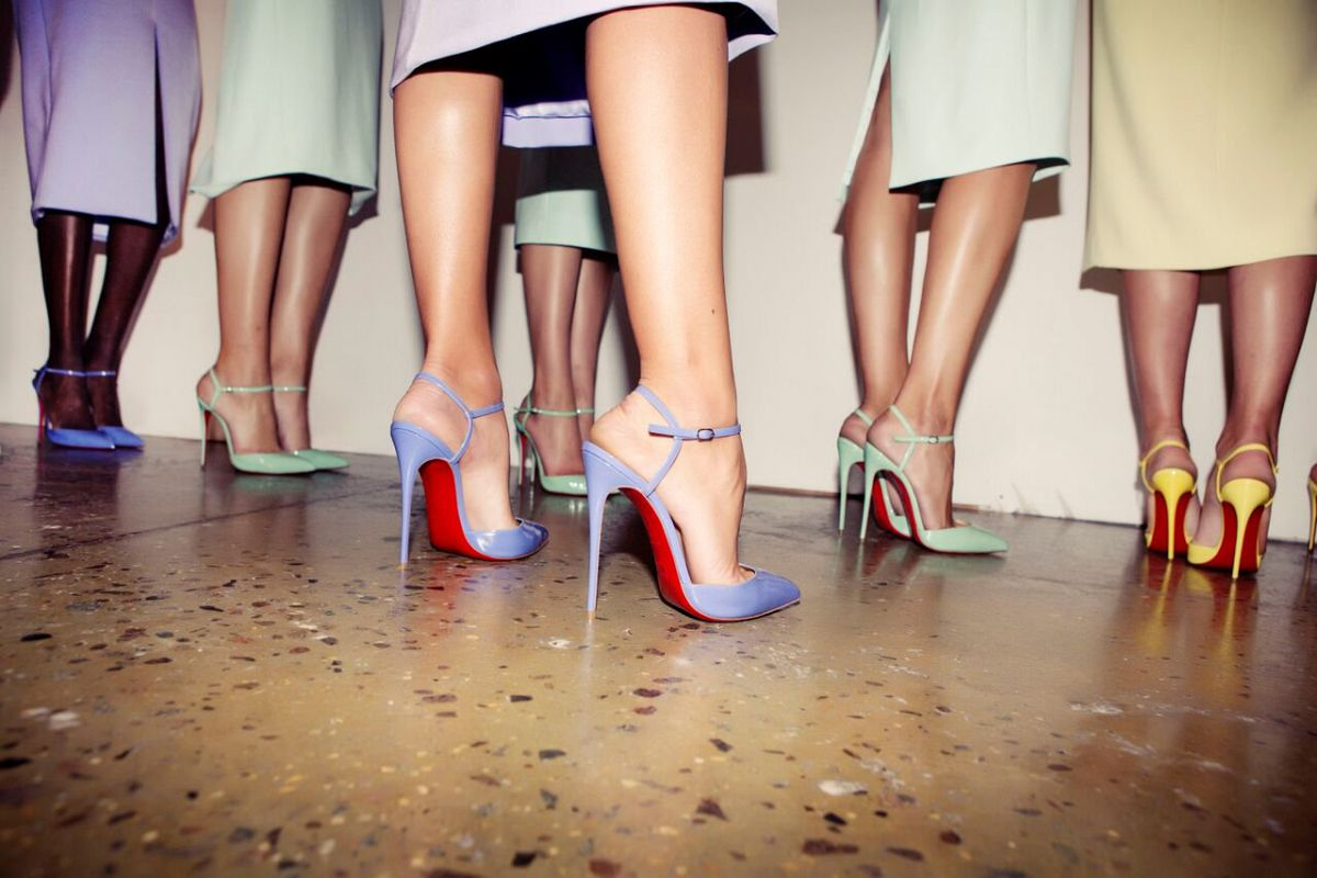 Christian Louboutin Shoes Spring 2015 Campaign images