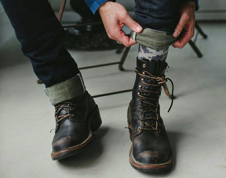 Fashion Combat Boots - Cr Boot
